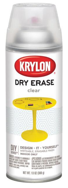 Sherwin Williams 3940 Krylon K Clear Dry Erase Spray Paint