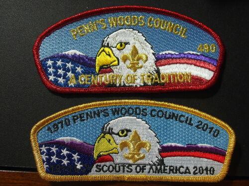Two 2010 Centennial CSPs Penn/'s Woods Council