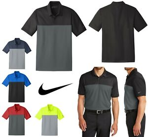 fitting school Mansion  MEN'S NIKE COLORBLOCK FRONT, DRI FIT WICKING, LIGHTWEIGHT POLO SHIRT, GOLF  S-4XL | eBay
