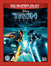 TRON - LEGACY (3D)   DVD Blu Ray blu-ray BLU RAY NEW FREEPOST