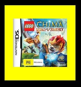 Lego Legends Of Chima Lavals Journey Game Nintendo Nds Ds Lite Dsi