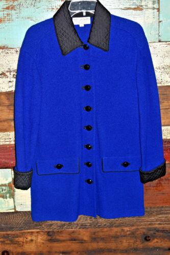 Coat Blazer John Trim Blå Marie Lilla Santana Grey Knits Collection St Sort qIfRXf