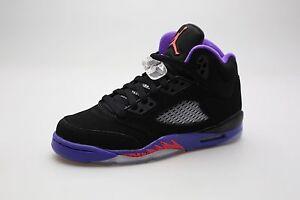 4af82b216dd1 440892-017 Jordan Big Kids Girls  Jordan 5 Retro (GS) (black   ember ...