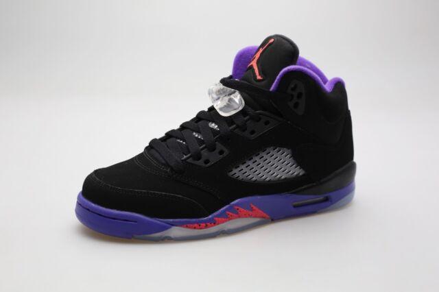 wspaniały wygląd klasyczne buty przedstawianie 440892-017 Jordan Big Kids Girls' Jordan 5 Retro (GS) (black / ember  glow-fierce