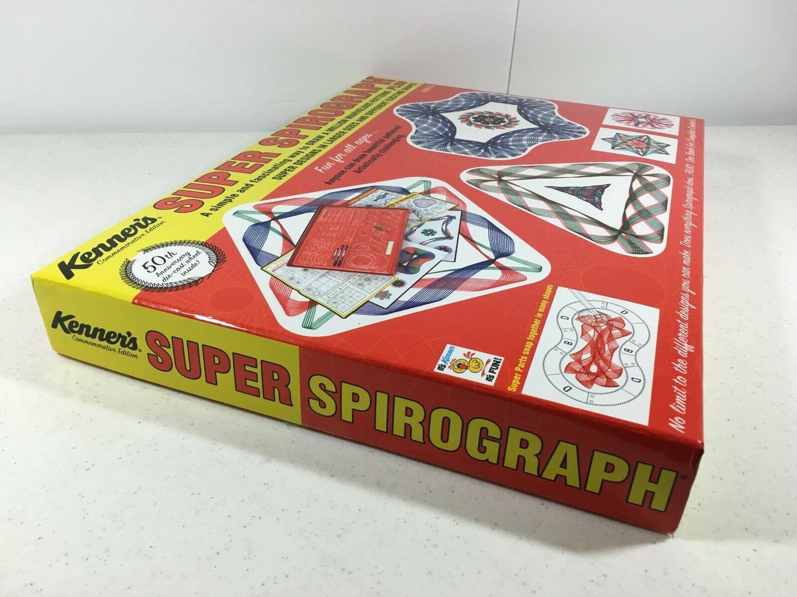 Super Spirograph Commemorative Classic Edition Kenner 50th 50th 50th Anniversary 01049 2924c8