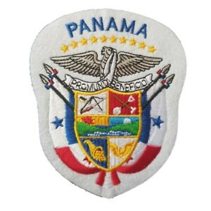 Panama-Coat-of-Arms-Iron-On-Patch-Sew-on-Transfer-Panama-Country-Flag-Large