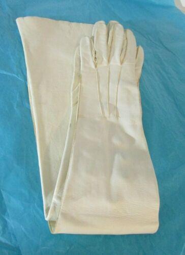 Vintage Women's Size 6 1/2 Evening Gloves - White