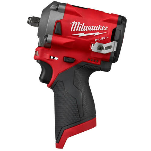 Milwaukee M12 2554-20 12-Volt Fuel 3//8 pouces Stubby Clé à choc-BARE OUTIL