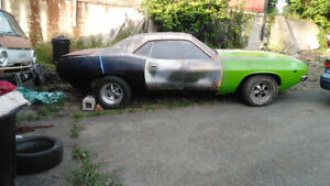 1974 Plymouth Barracuda!!! E-Body Mopar!!!