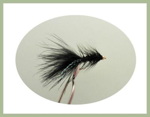 couleurs mélangées 24 par boîte Tadpole /& Laineux bougre Leurres pour Pêche à la mouche taille 10