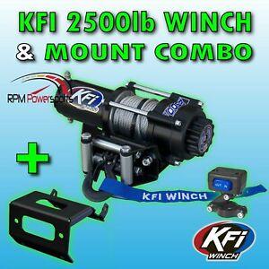 KFI 2500LBS Winch Kit /& Winch Mount For 2014-2018 Polaris 570 Ranger Midsize 4x4