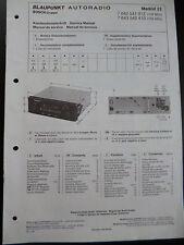 ORIGINALI service manual BLAUPUNKT AUTORADIO Madrid 23