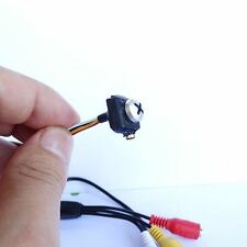 900tvl con cavo mini audio bianco vite nascosta lente videocamera micro