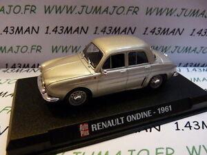 Voiture 1/43 IXO AUTO PLUS : RENAULT ondine 1961