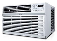LG LW1015ER - 10,000 BTU 110V Window A/C: Remote & Window Accessories Included