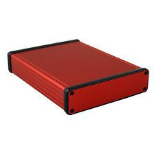 Aluminium Instrument Enclosure Red Hammond 1455 160x125x30.5mm Project Case Box