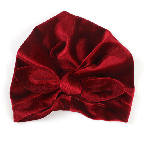 Baby Hat Autumn Winter Knotted Headband Kids Girls Caps Turban Hats Toddler