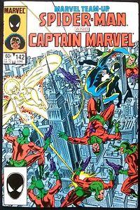 Marvel-Team-Up-142-Spider-Man-amp-Captain-Marvel-Grading-VF
