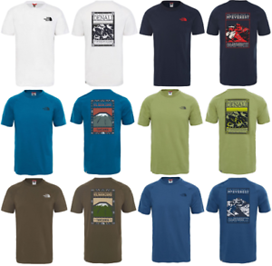THE-NORTH-FACE-TNF-North-Faces-Cotton-T-Shirt-Short-Sleeve-Tee-Mens-New-All-Size
