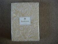Sanderson Cornucopia Gold Lined Curtains 66 X 54 Bnip