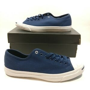 e9bab04a7d5d Mens Converse Jack Purcell JP Jack Ox Navy Blue White Shoe Multi ...