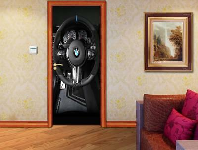 Armored Safe 3D DOOR WRAP Decal Wall Sticker Home Decor Mural Art D225
