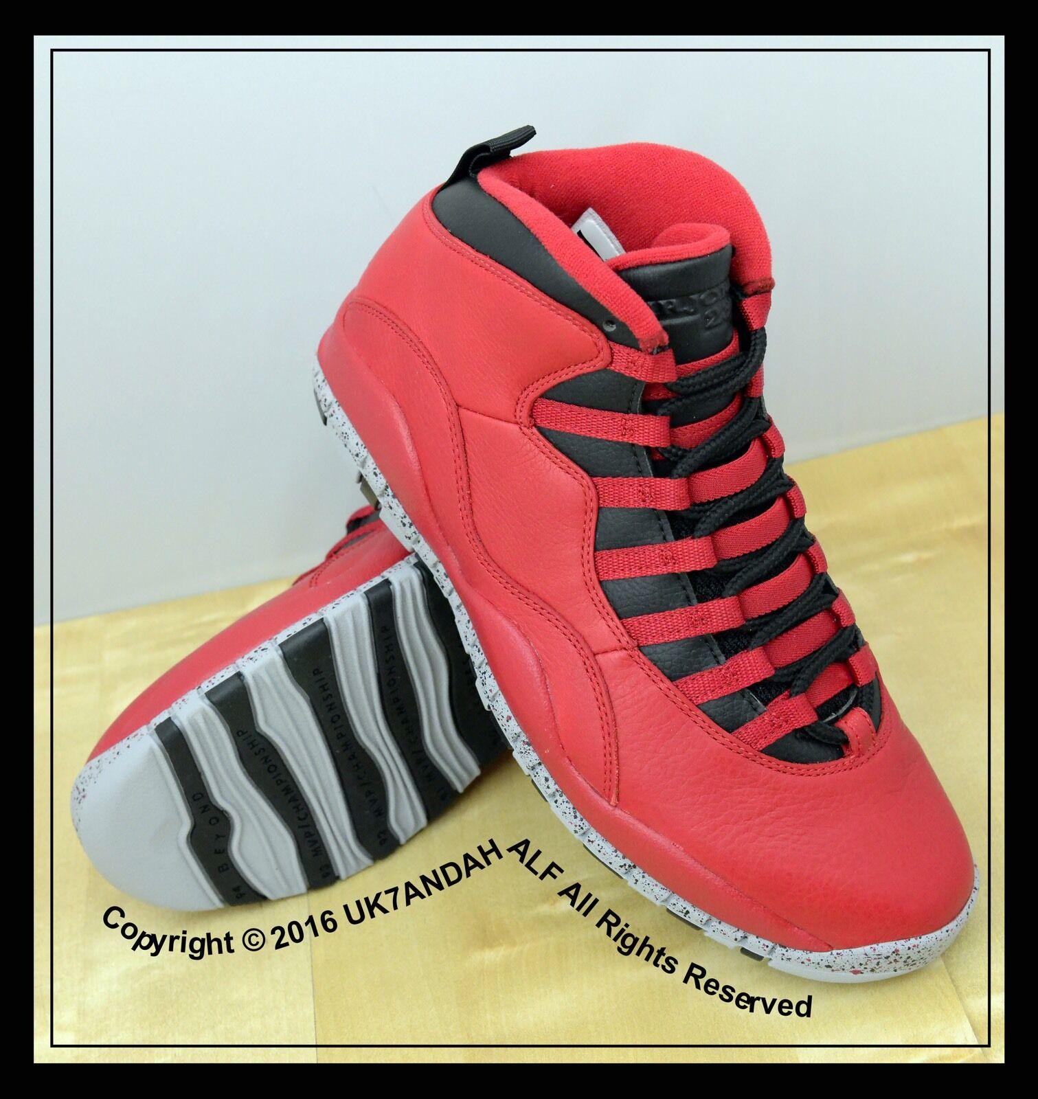 Air Jordan 10 Retro  Gym Red  UK Size 7.5