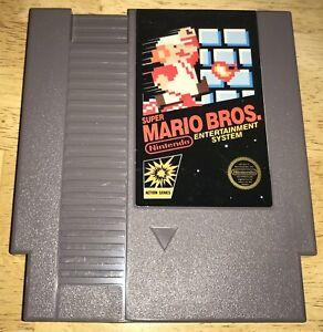 SUPER MARIO BROS. 5-Screw FIRST PRINT NO TM NES Cart WORKING Nintendo 1985 RARE