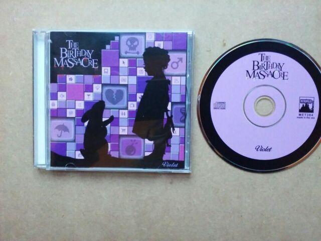 The Birthday Massacre - Violet - 13 Track CD Album (2005 US Import CD)