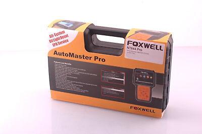 Inventivo Obd Scanner Foxwell Nt644 Pro Passend Für Dethlefs Fahrzeuge, Inkl. Si Reset