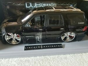 Jada Toys Dub City Big Ballers 1 18 Lincoln Navigator Black Model