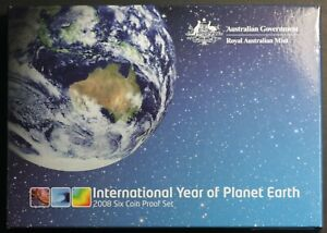 Australia-Proof-set-2008-International-Year-of-Planet-Earth