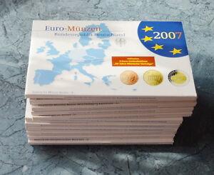 BRD KMS wählen Sie unter Jahrgang und Prägestätte 2006 bis 2015 PP * ADFGJ