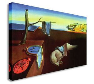 Salvador-Dali-The-Persistence-Of-Memory-Canvas-Canvas-Wall-Art-Picture-Print