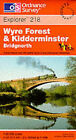 Kidderminster and Wyre Forest by Ordnance Survey (Sheet map, folded, 1999)