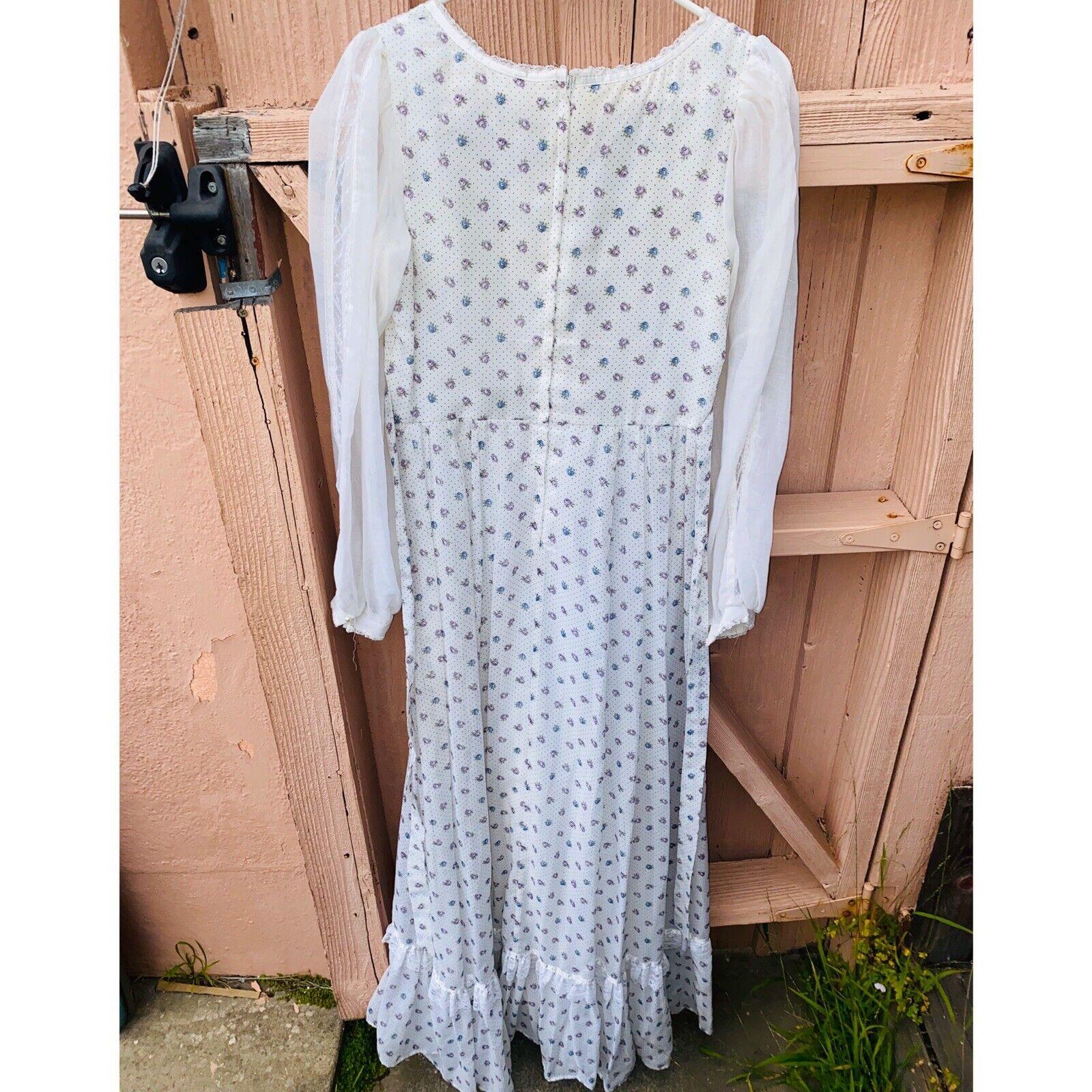 1970's Gunne Sax Prairie Cottage Core Dress - image 2