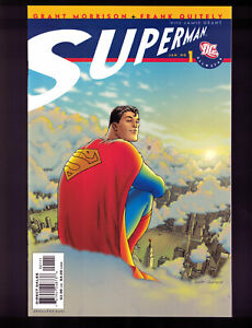 All-Star-Superman-1-12-Complete-DC-Comics-Set-VF-NM-2006-Morrison-W-Quitely