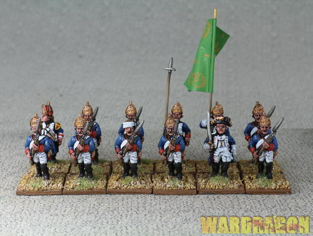 28mm Seven Years War  WDS painted Purssia Infantry Regiment Nr 37 cc63  fino al 65% di sconto