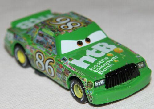 Disney Pixar Cars Chick Hicks 86 Der Böse Metall 1//55 Vitrine