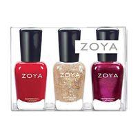 Zoya Polish Redbook Collection 3 Pc Set Gift Item (christmas Stocking Stuffer)