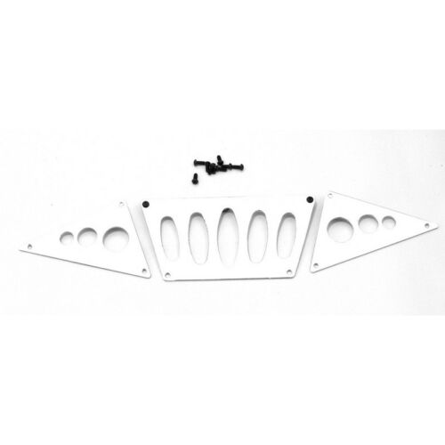 Hot Racing SCX03P08 Scx Silver Skid Plate For Axi80044