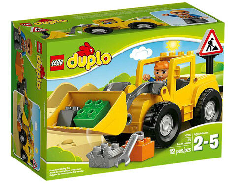 LEGO Duplo 10520 Big Front Loader 12pcs Set New In Box  10520