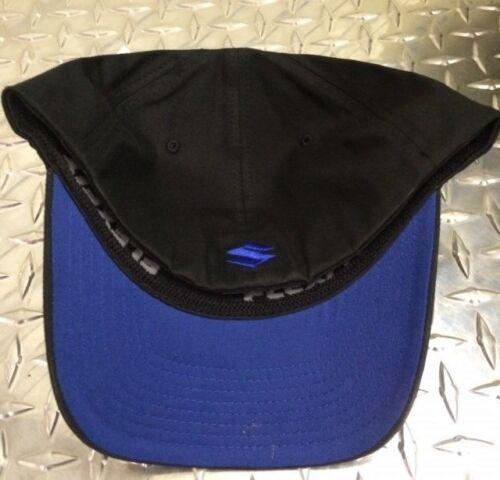 Suzuki Racing 3D S Cap Hat Flexfit Motorcycle ATV Supercross MX RMZ GSXR GSX-R