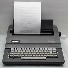 Vtg Smith Corona Spell Right Sc 125 Electronic Typewriter 2 Ribbon Cassettes