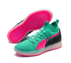 c8ad2b3f Details about PUMA Clyde Court Biscay Green 19171501 191715-01 Basketball  Shoes Sneakers