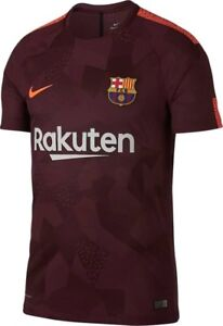 8ab9bb4f921 Image is loading Nike-FC-Barcelona-2017-2018-Stadium-Third-Jersey