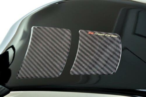 All MV Agusta Carbon Fibre Finish Knee Side Tank Protectors by Cream Carbon
