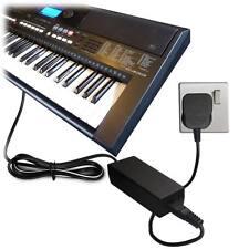 DC 12v Rete Alimentatore Adattatore per Tastiera Yamaha Piaggero Pianoforte NP-11 NP11