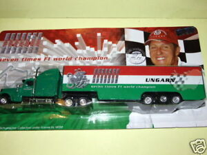 Camion F1 GP HONGRIE Mickael Schumacher Collection 1/87