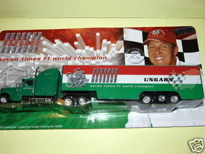 Camion F1 GP HONGRIE Mickael Schumacher Collection 1//87